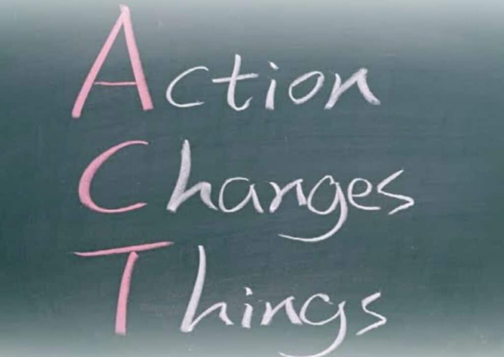 Contact Us to take positive action
